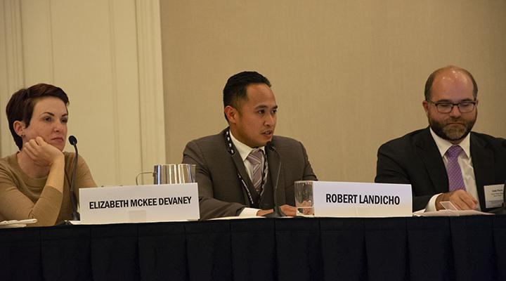 Liz Devaney and Rob Landicho - 5th ITA-IEL-ICC Conference